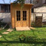 Posso mettere la casetta di legno in giardino?