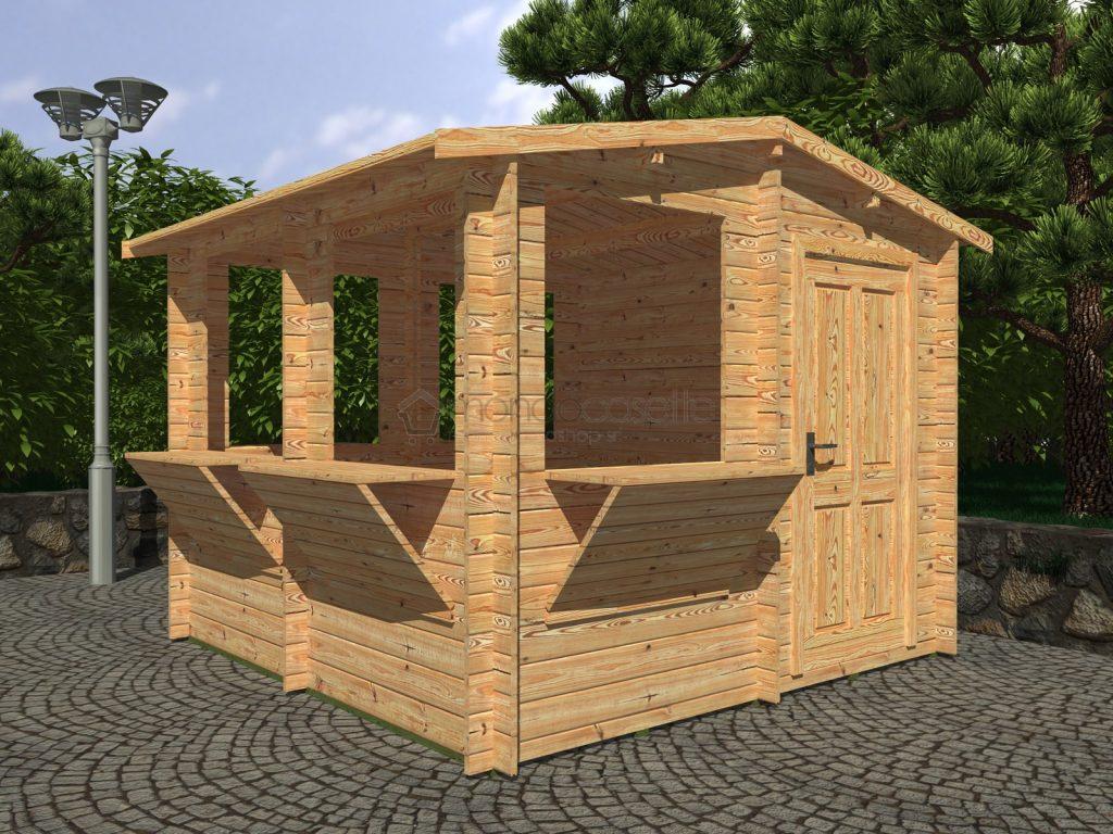 Migliori chioschi prefabbricati in legno